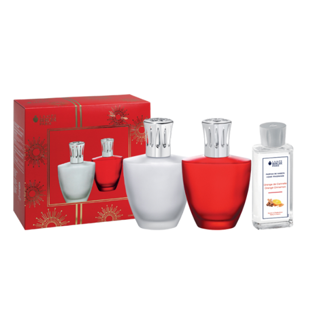 Lampe Berger Satin Red Gift Set | 004478
