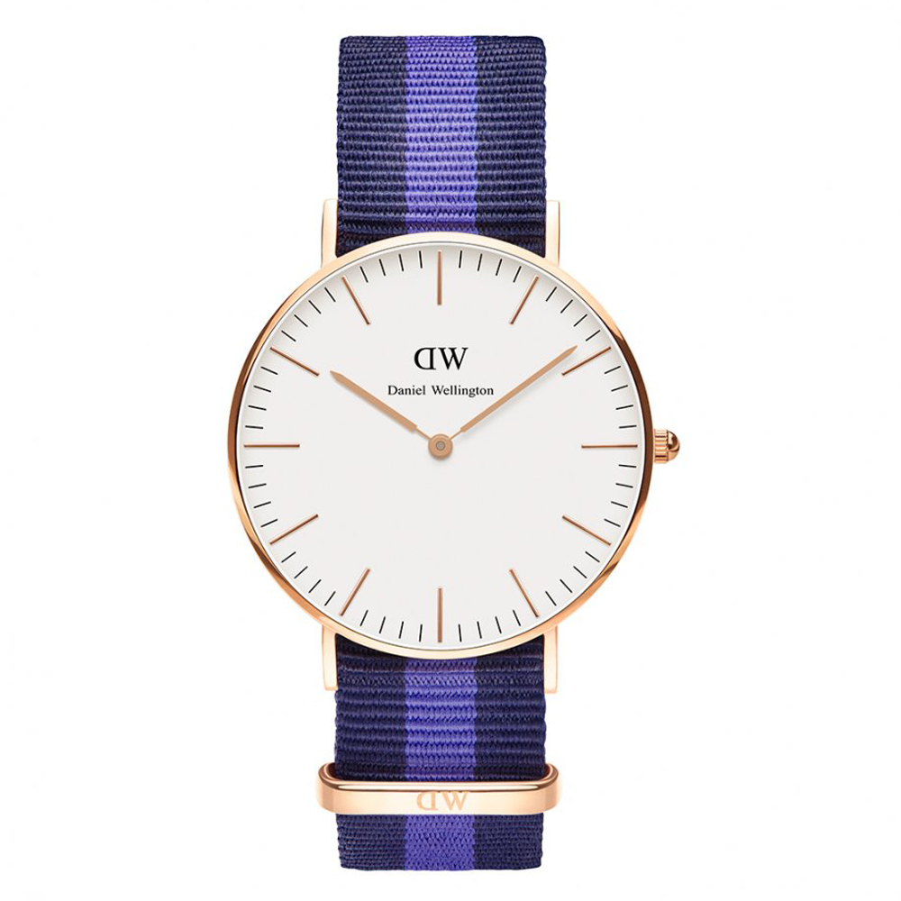 Daniel Wellington - Ladies' Classic Swansea Watch, Rose Gold