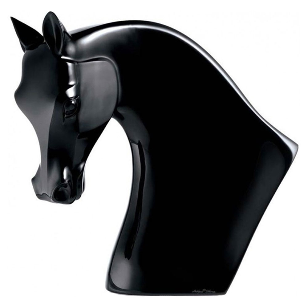 Lalique Black Horse's Head | 10056600
