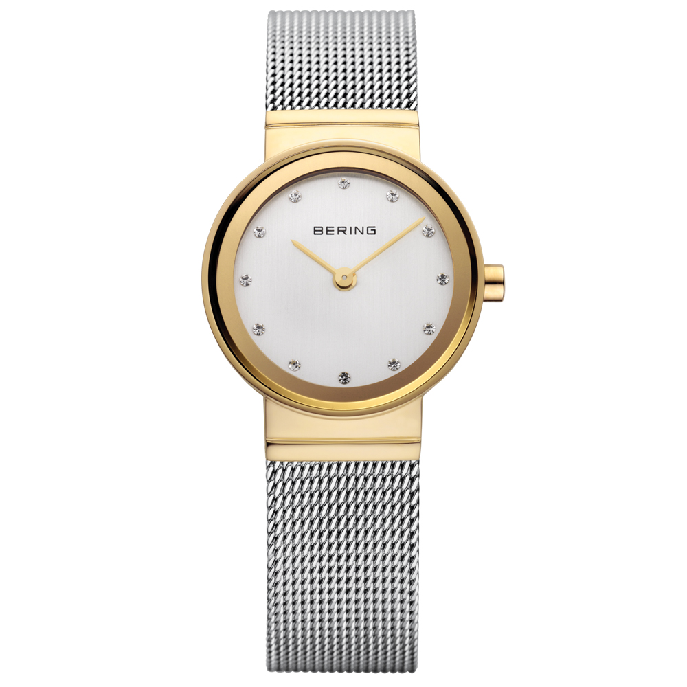Bering Ladies' Classic Gold Watch | 10122-001