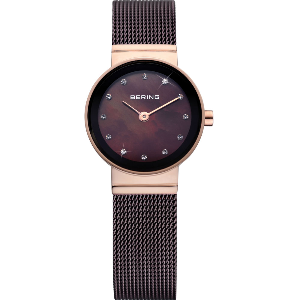 Bering Ladies' Ceramic Black Pearl Watch | 10122-265