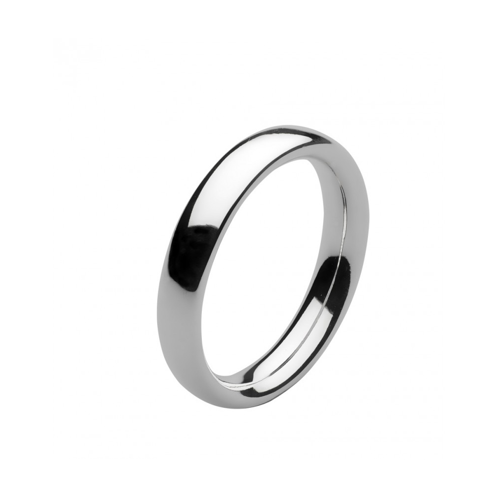 Kit Heath Bevel Heirloom Court Silver Ring Size J | 1017HPJ018