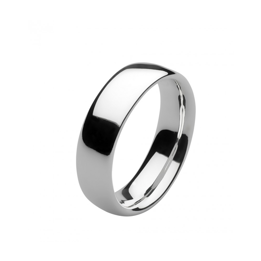Kit Heath Bevel Heirloom Court Silver Ring Size L | 1019HPL018