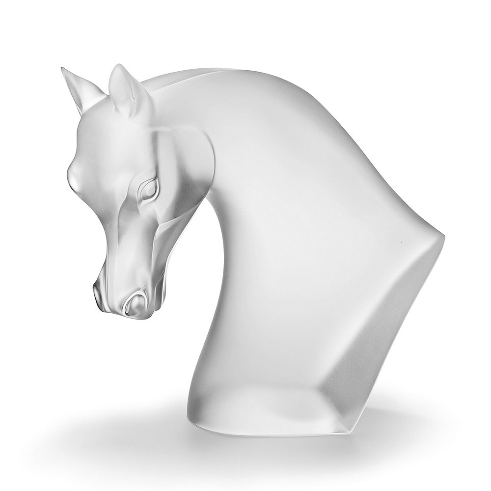 Lalique Satin Horse's Head | 10368500