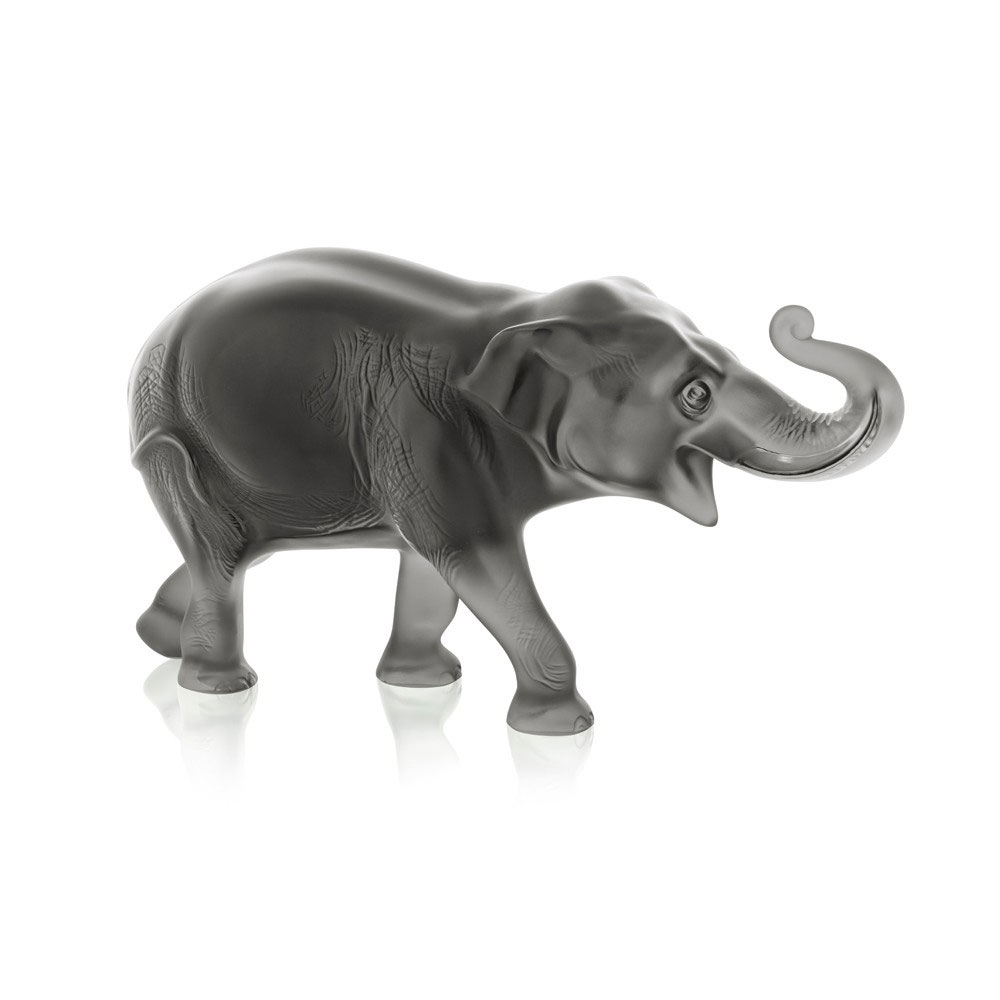 Lalique Grey Sumatra Elephant, Limited Edition of 288 Pieces | 10491600