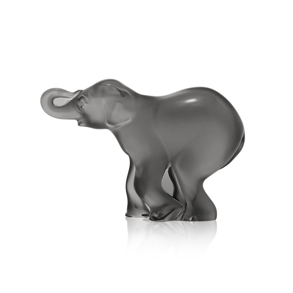 Lalique Grey Timori Elephant | 10492600