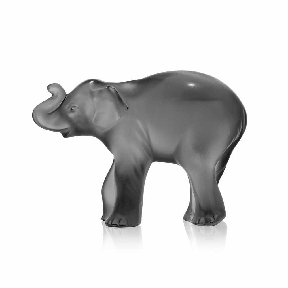 Lalique Grey Timora Elephant