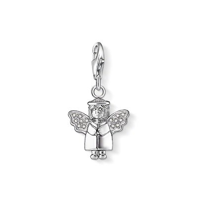 Thomas Sabo Charm Club Sparkling Angel Charm | 105605114