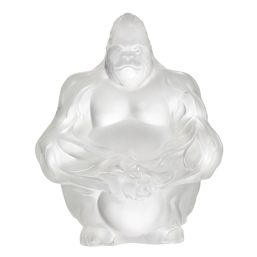 Lalique Clear Gorilla | 10600100
