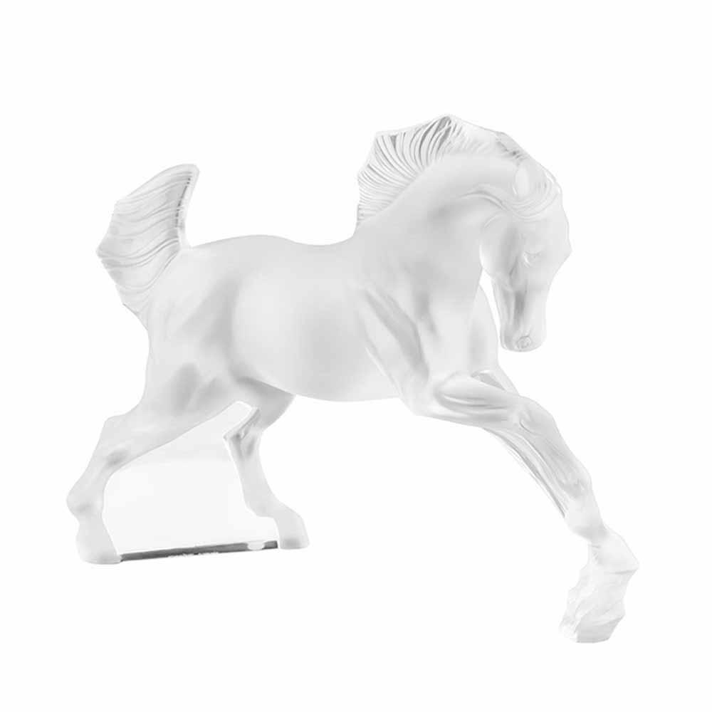Lalique Horse Sculpture