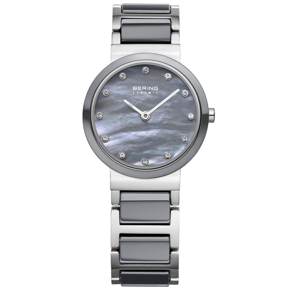 Bering Ladies' Ceramic Grey Watch | 10725-789