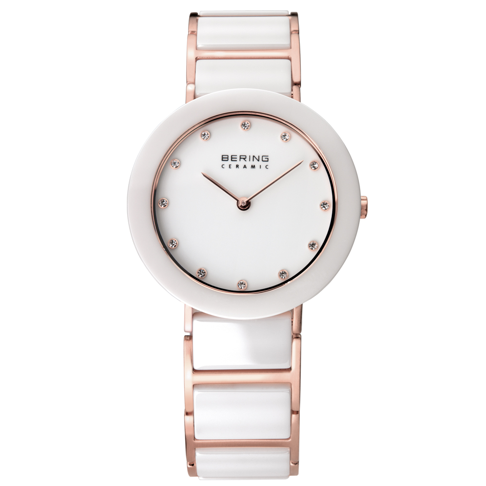 Bering Ladies' Ceramic White Watch | 11429-766