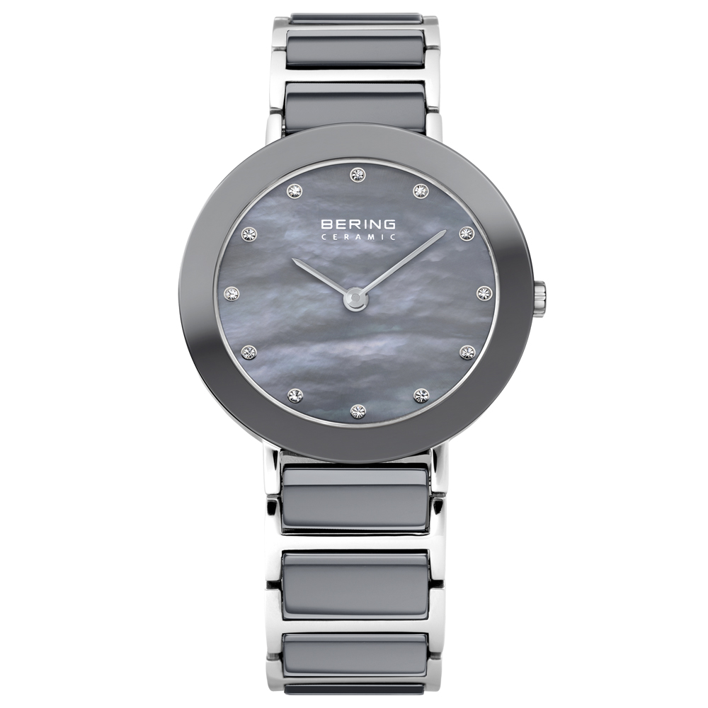 Bering Ladies' Ceramic Round Dial Watch | 11429-789