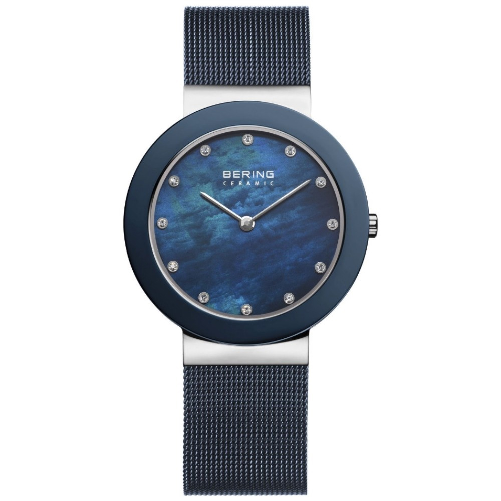Bering Ladies' Navy Blue Watch | 11435-387