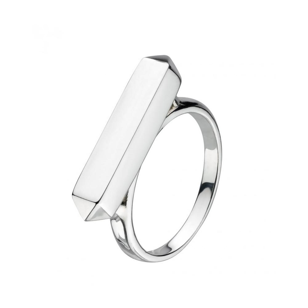 Kit Heath Manhattan Little Bar Silver Ring Size N | 1171HPN018