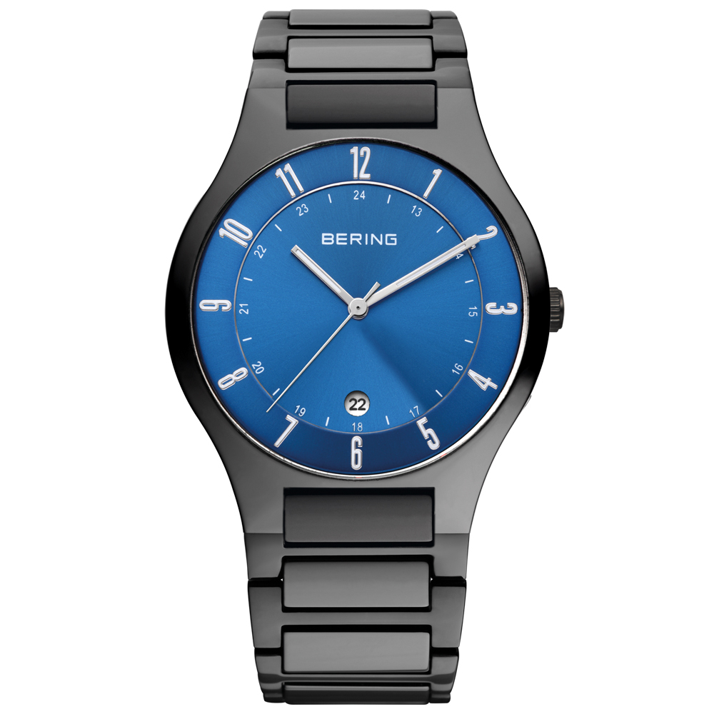 Bering Men's Classic Blue Dial Watch | 11739-727