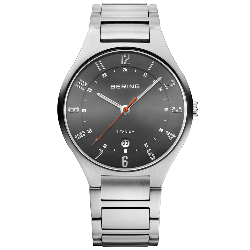 Bering Men's Titanium Watch | 11739-772