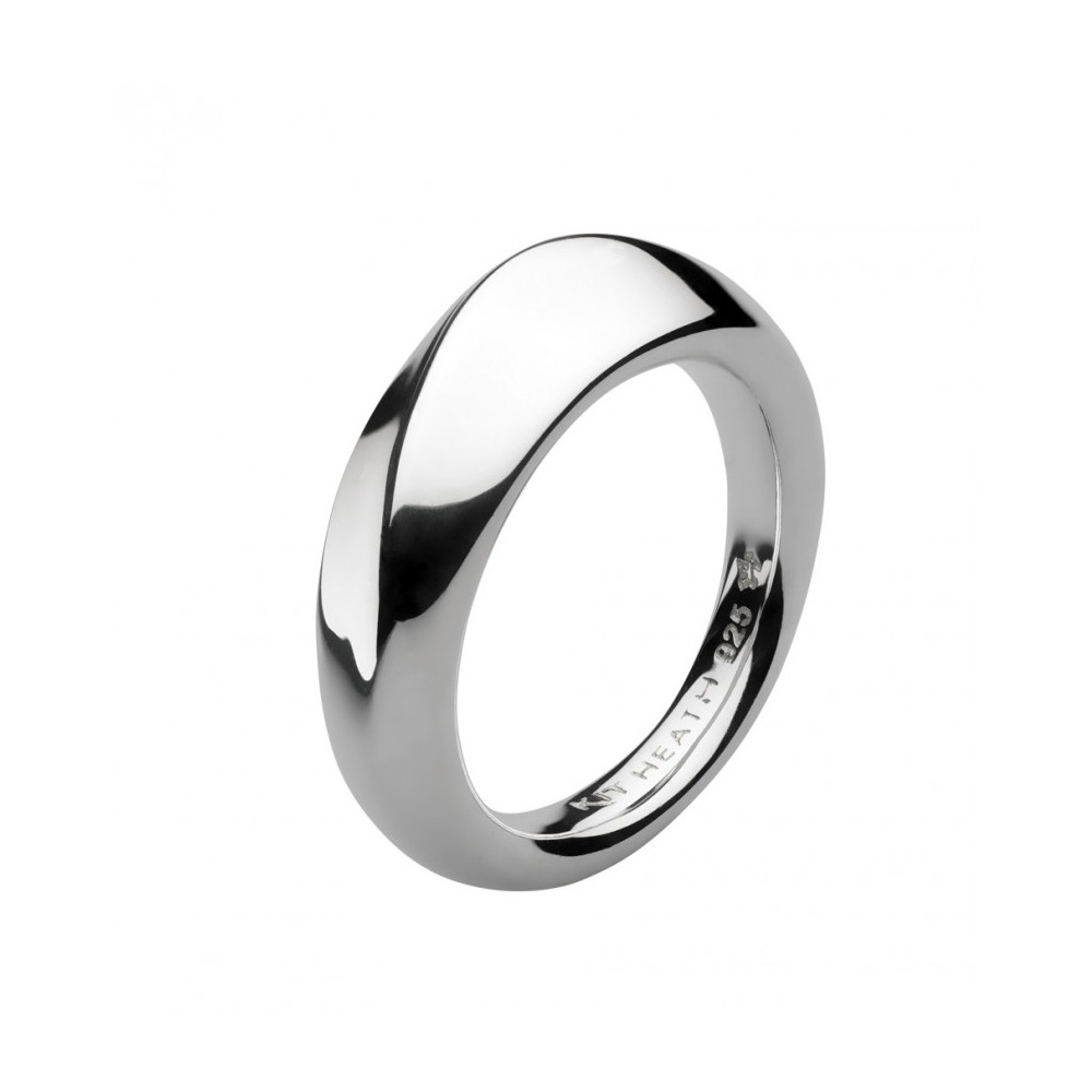 Kit Heath Bevel Wave Silver Ring Size P | 1174HPP018