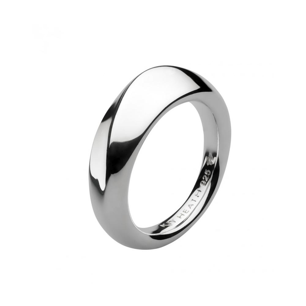 Kit Heath Bevel Wave Silver Ring Size P | 1174HPP018