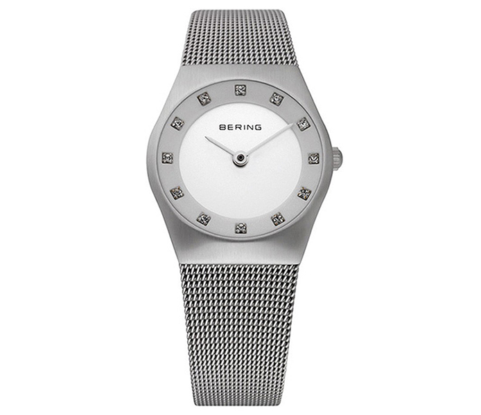 Bering Ladies' Steel Case Silver Brushed Watch | 11927-000