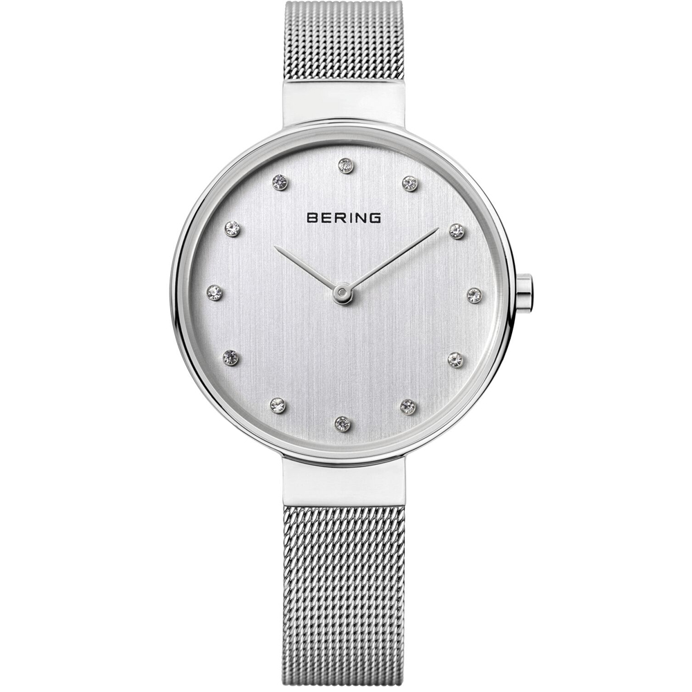 Bering Ladies' Classic Crystal White Watch | 12034-000
