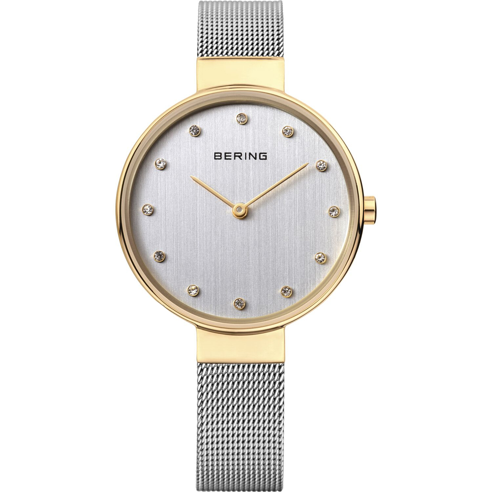 Bering Ladies' Classic Grey Strap Grey Dial Watch | 12034-010