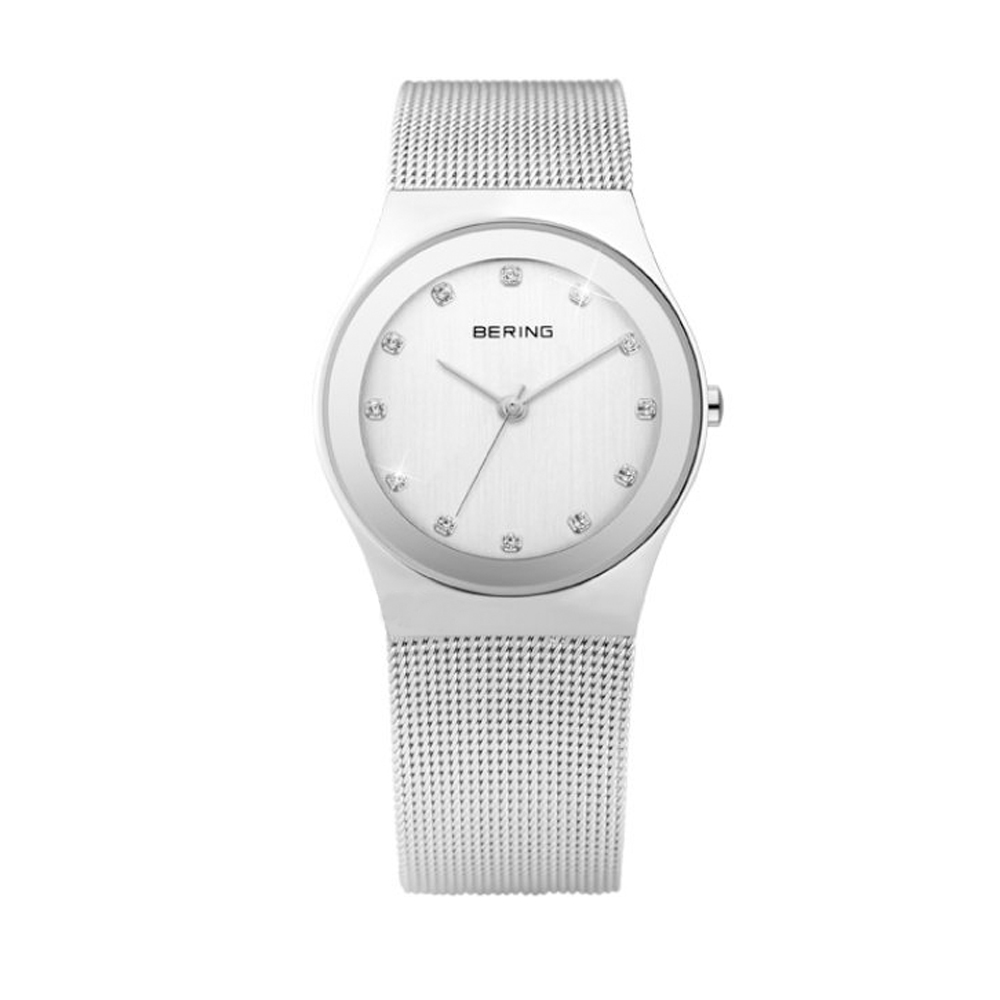 Bering Ladies' Classic Collection Grey Dial Silver Watch | 12924-000