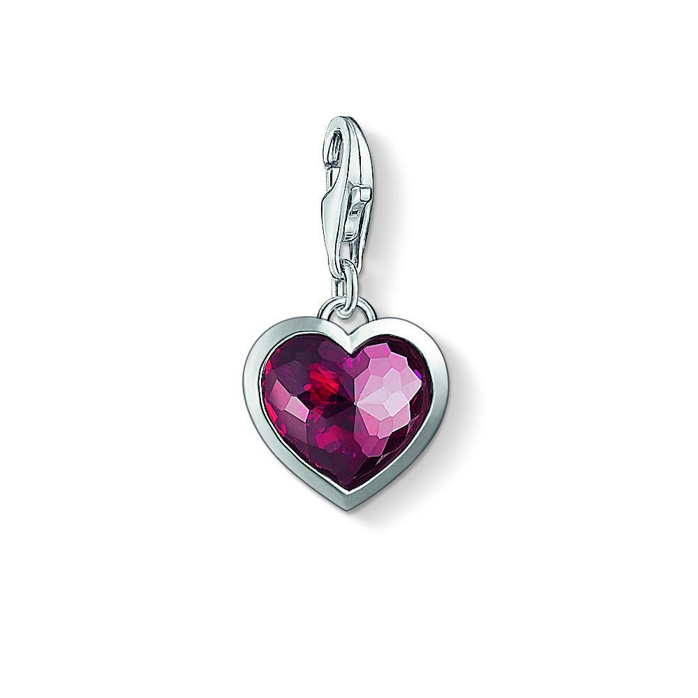 Thomas Sabo Charm Club Red Heart Pendant Charm   130501210