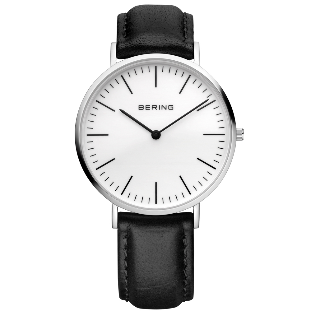 Bering Men's Classic White Dial Watch | 13738-404