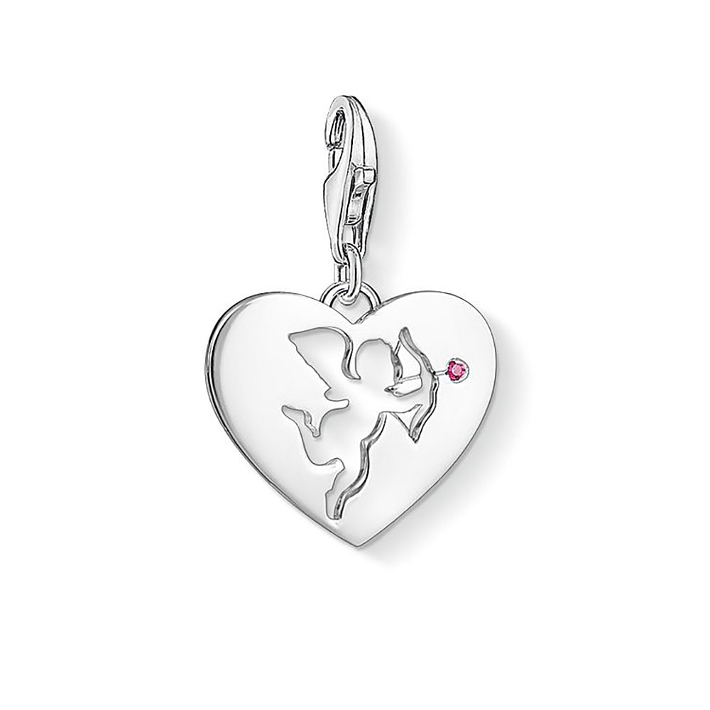 Thomas Sabo Charm Club Heart With Cupid Charm Pendant   138201110