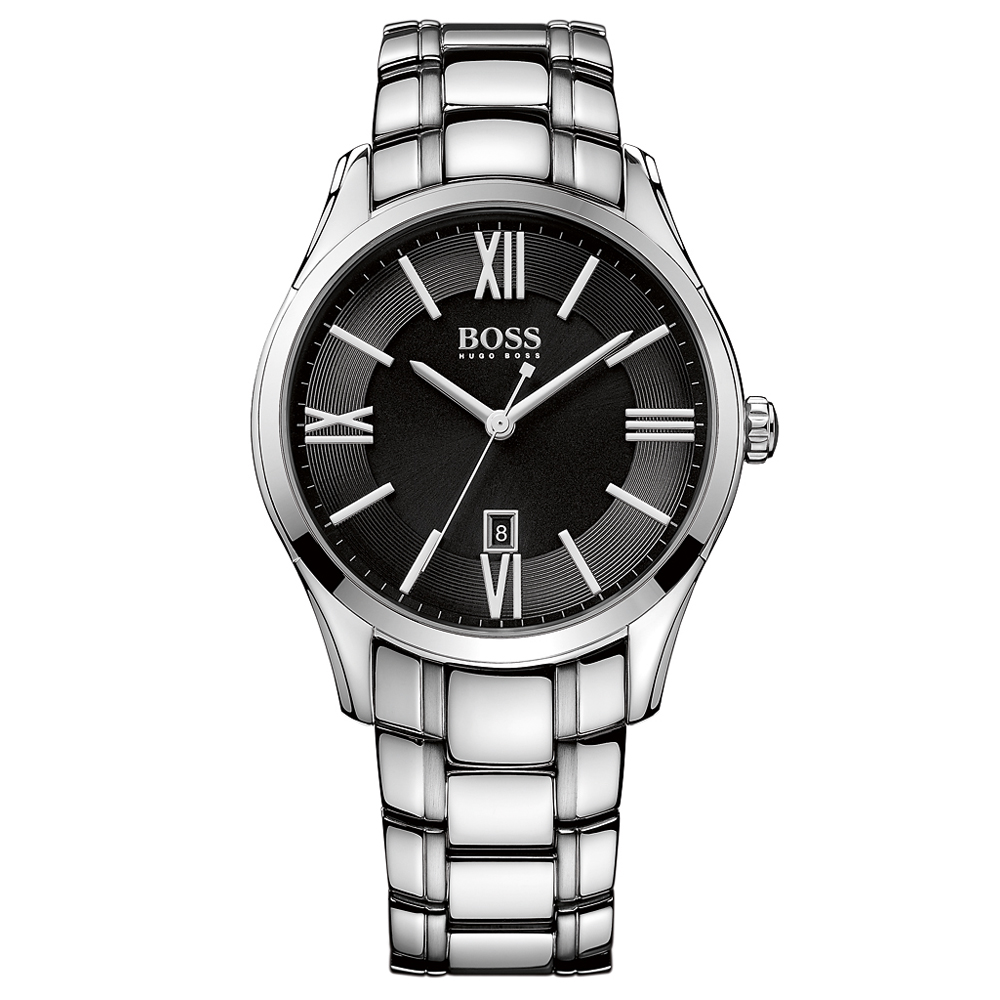 Hugo Boss Ambassador Bracelet Silver Watch | 1513025
