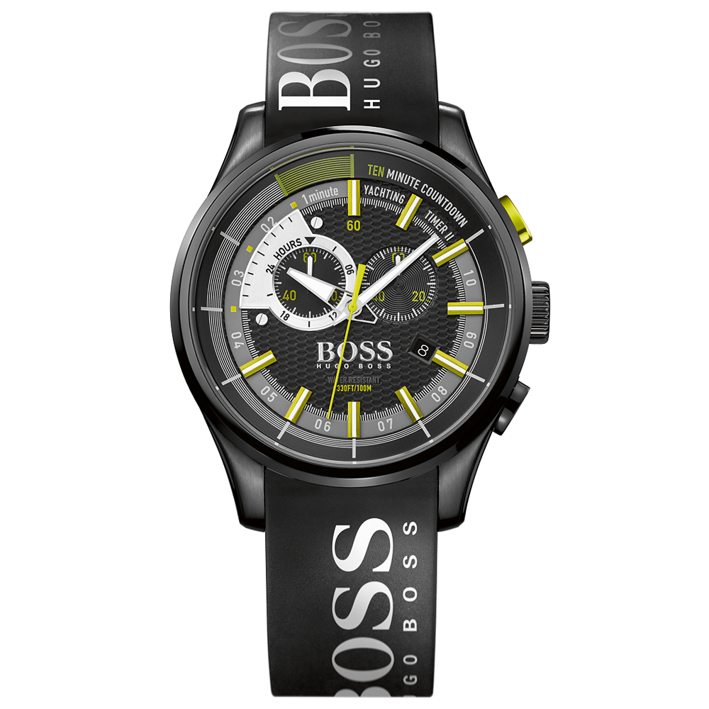 Hugo Boss Yachting Timer II Chronograph Black Watch | 1513337