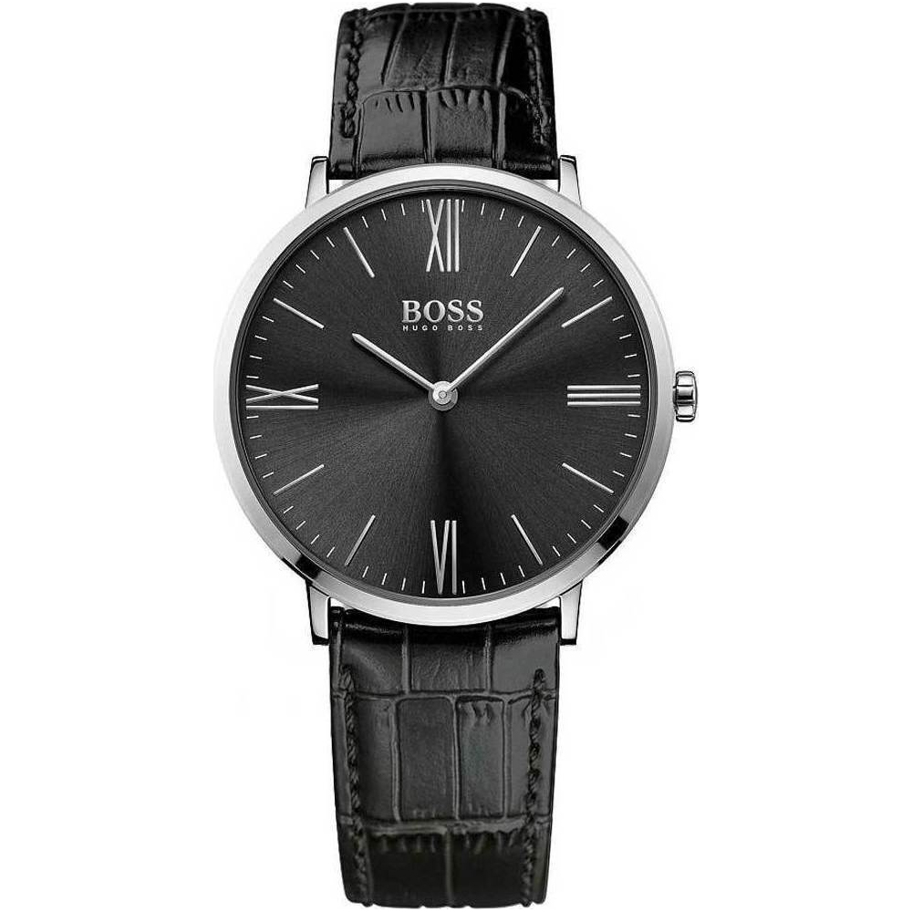 Hugo Boss Jackson Black Roman Dial Black Watch | 1513369
