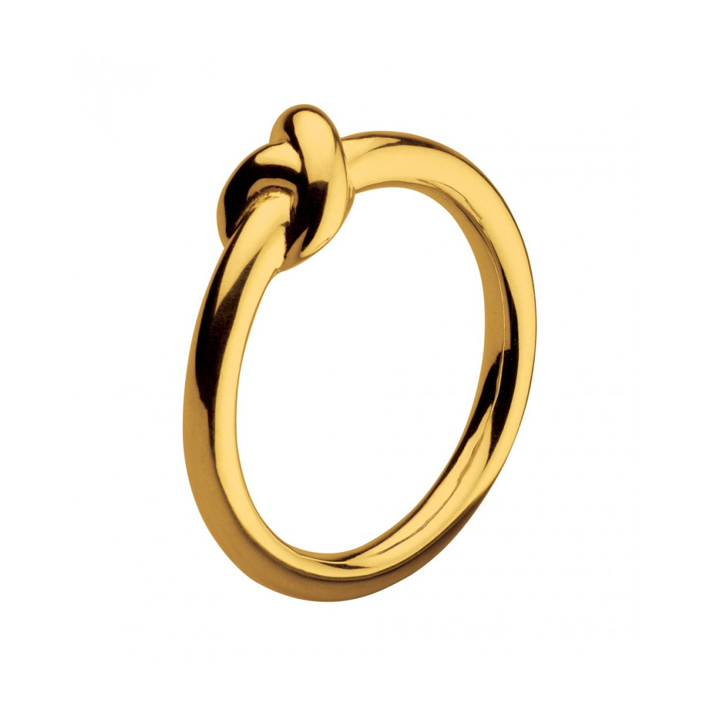 Kit Heath Infinity Amity Knot Gold Plated Ring Size L | 20238GDL015