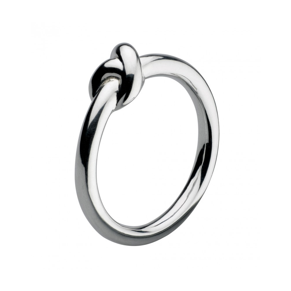 Kit Heath Infinity Amity Knot Silver Ring Size M | 20238HPM015