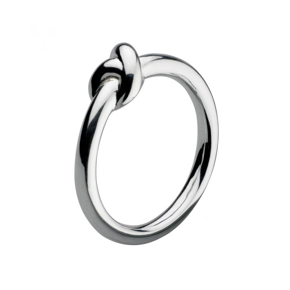 Kit Heath Infinity Amity Knot Silver Ring Size M | 20238HPM015