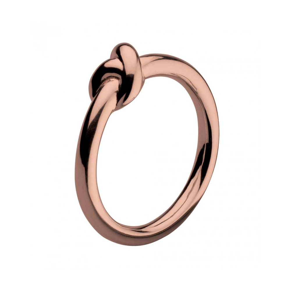 Kit Heath Infinity Amity Knot Rose Gold Plated Ring Size N | 20238RGN015