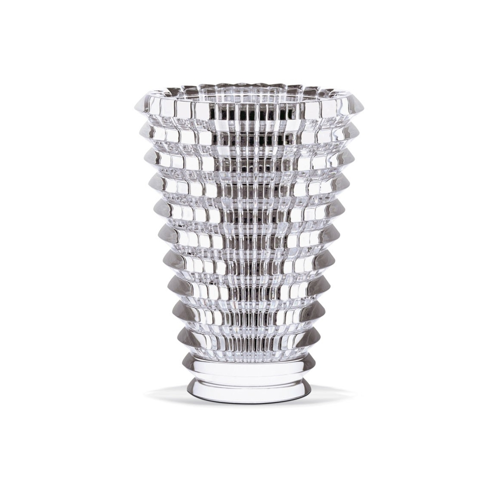 Baccarat Eye Oval White Vase | 2103568