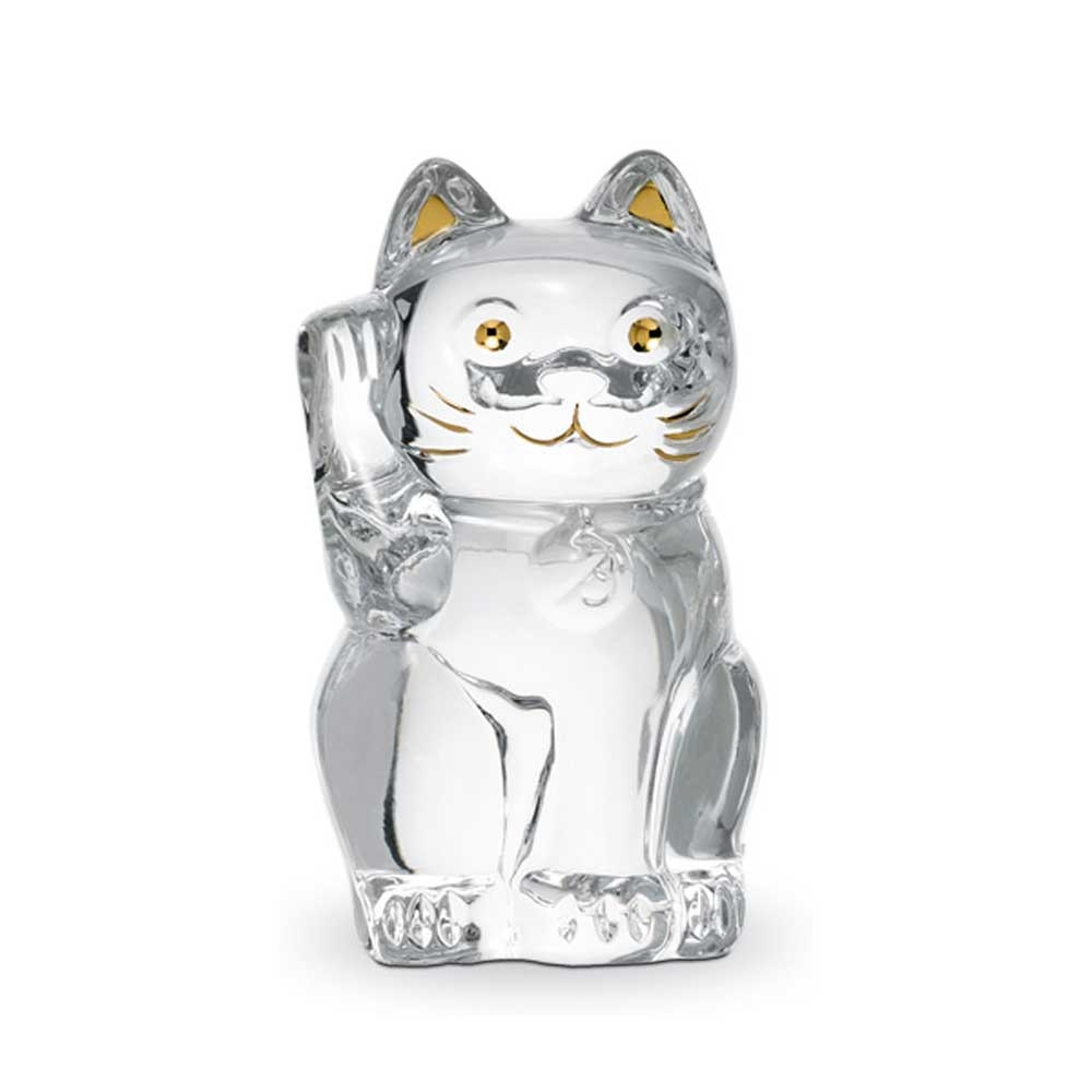 Baccarat Chat Lucky Clear Cat | 2607786