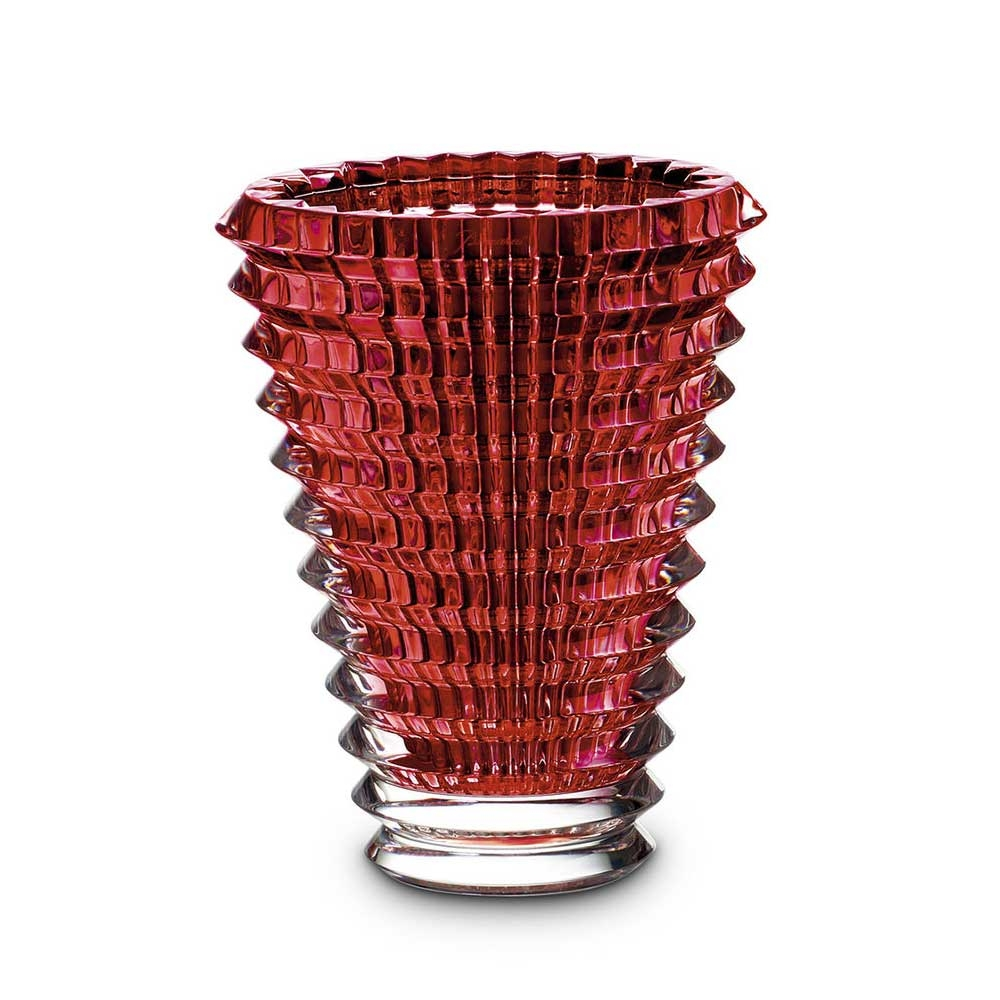 Baccarat Eye Oval Red Vase | 2807199