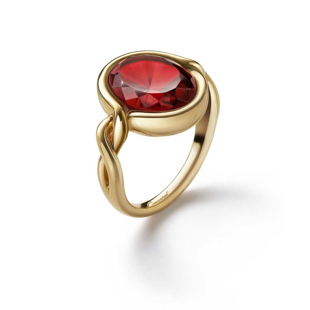 Baccarat Croise Red Size 57 Ring | 2812973
