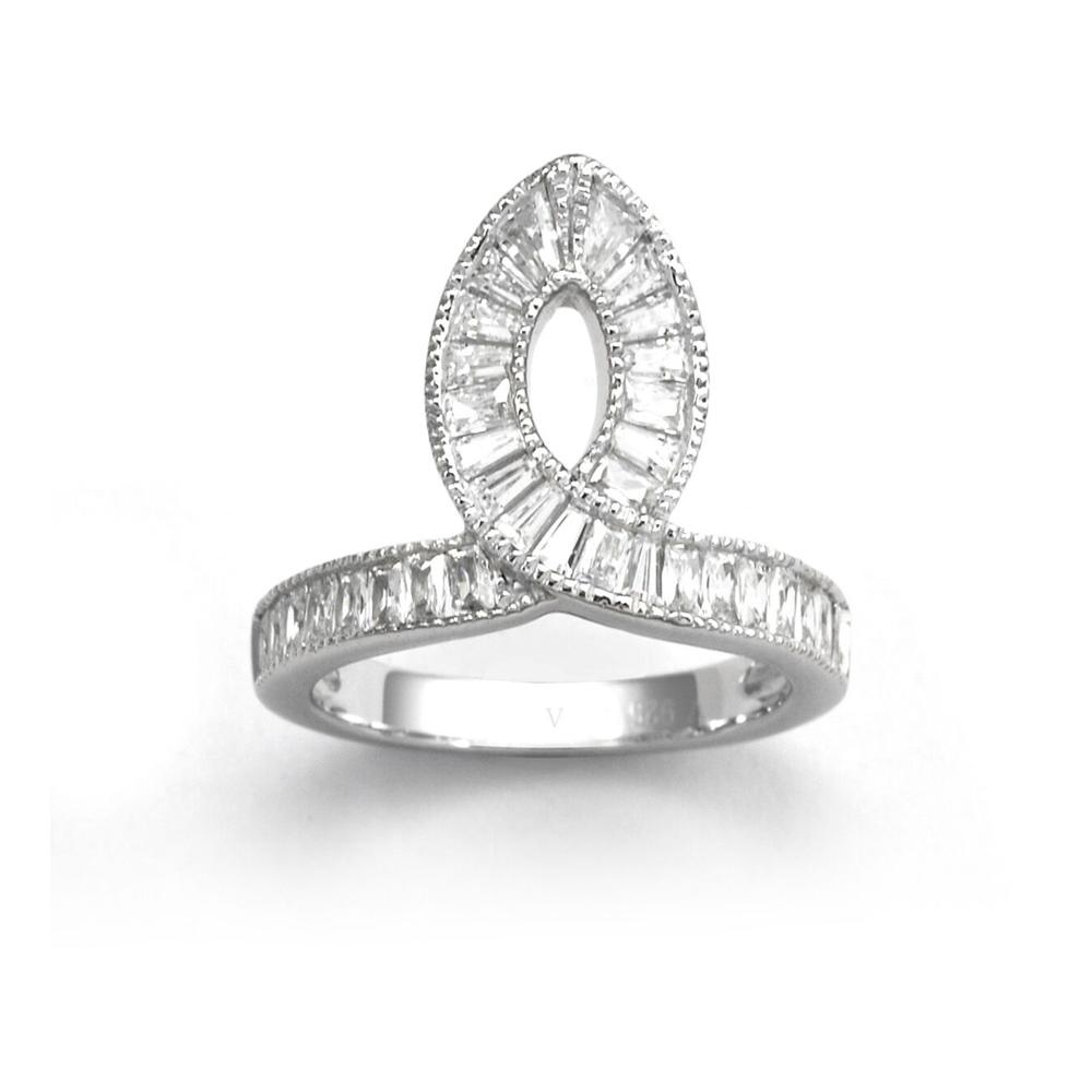 V Jewellery Taper Ring Size M   3117