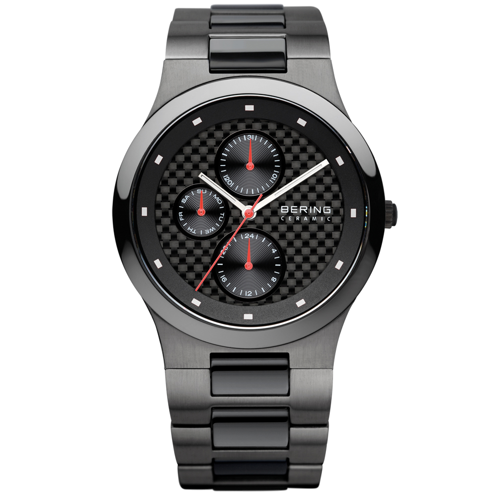Bering Men's Ceramic Dial Black Watch | 32339-782