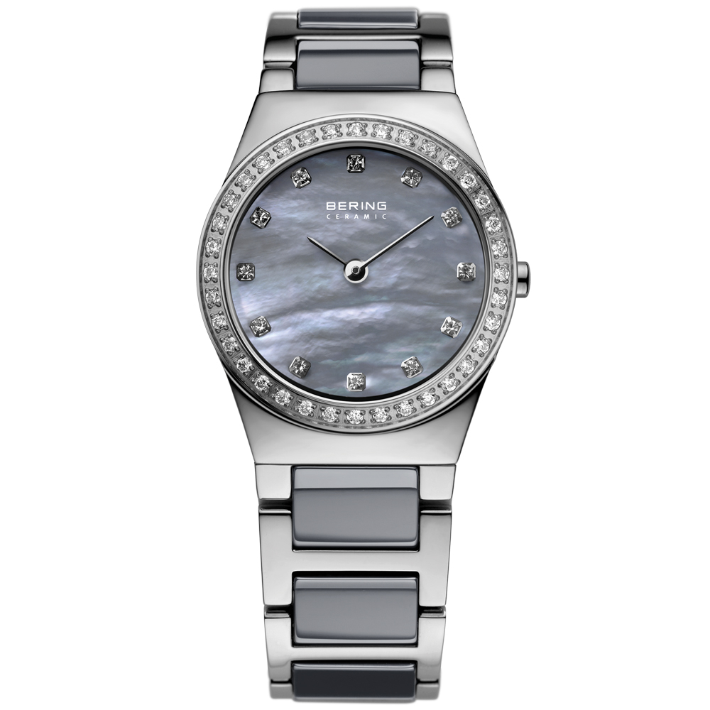 Bering Ladies' Ceramic Crystal Watch | 32426-789