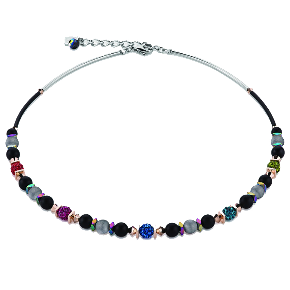 Coeur De Lion Frontline Multicoloured Necklace | 4846101500