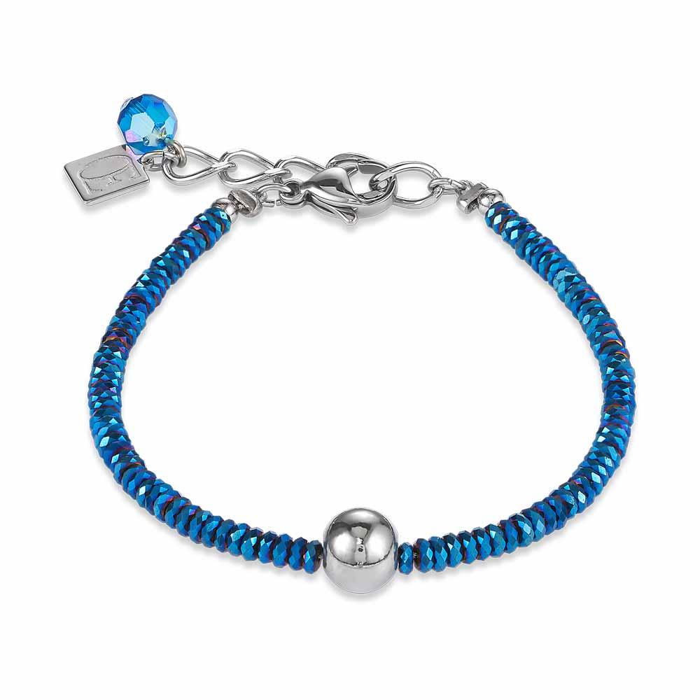 Coeur De Lion Blue & Silver Bracelet