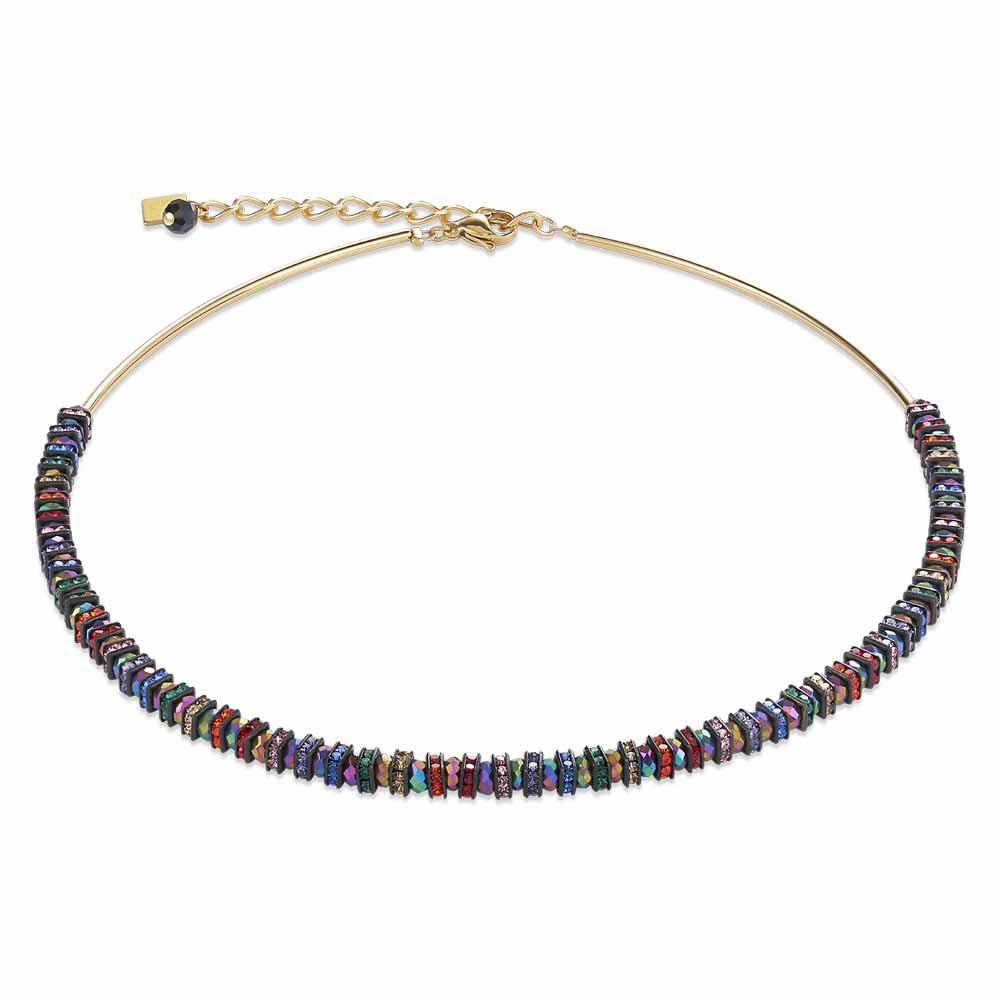 Coeur De Lion Frontline Multicoloured Necklace