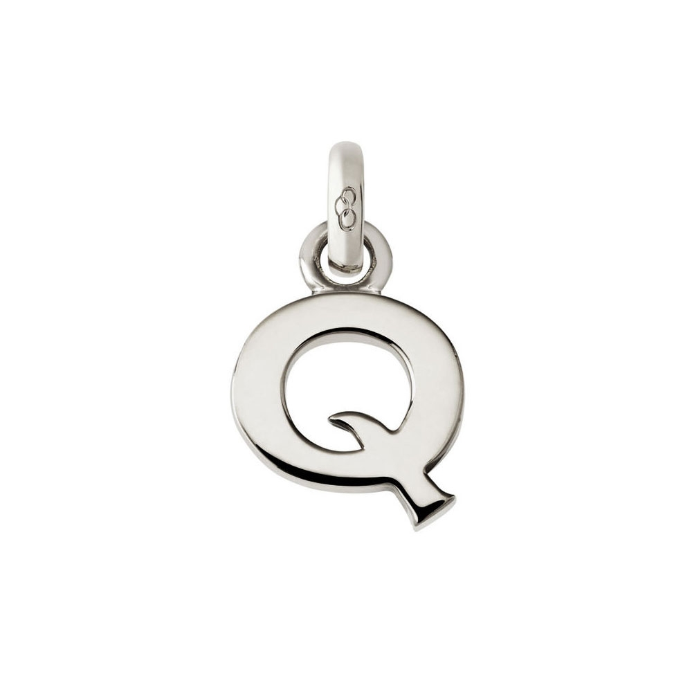 Links of London Alphabet Q Charm, Sterling Silver