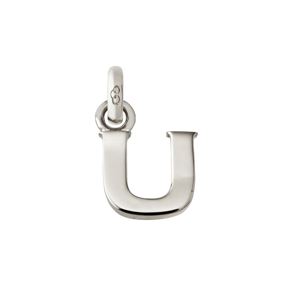 Links of London Alphabet U Charm, Sterling Silver
