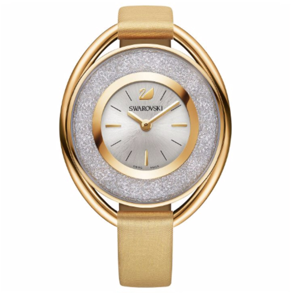 Swarovski Crystalline Oval Gold Watch | 5158972